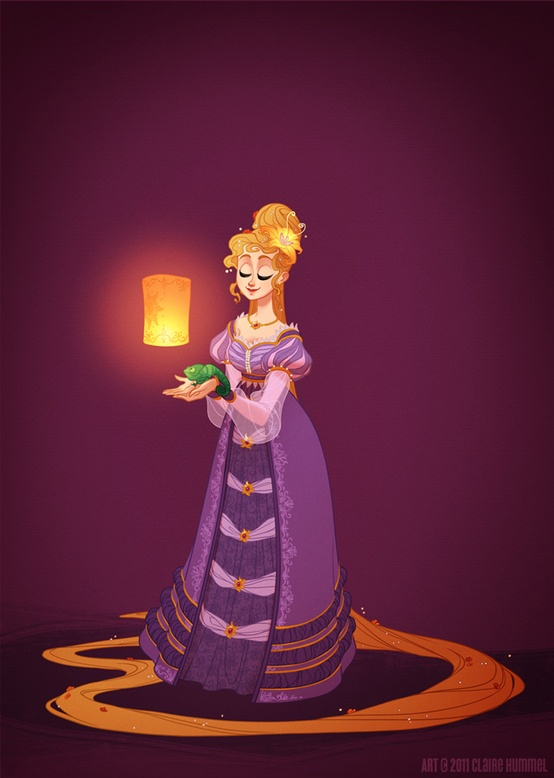 Disney Princess in accurate period clothing - Fashion - 2 Rapunzel