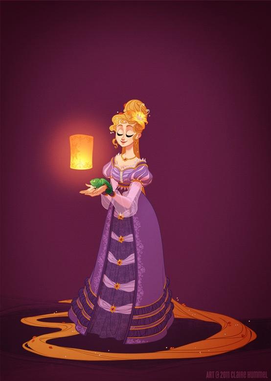 Disney Princess in accurate period clothing - Chicquero Fashion - 2 Rapunzel