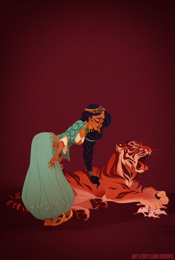 Disney Princess in accurate period clothing - Chicquero Fashion - Jasmine
