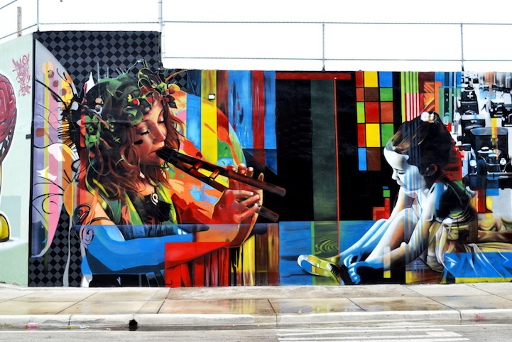 07 Eduardo Kobra painter - urban street art chicquero -  Mural brazil