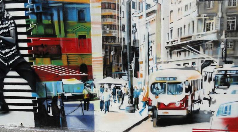 Eduardo Kobra painter - urban street art chicquero -  Mural Brazil 11
