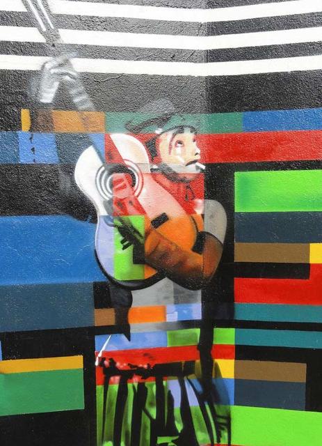 Eduardo Kobra painter - urban street art chicquero -  Mural Brazil 13