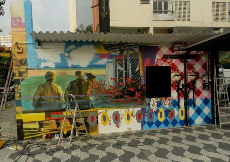 Eduardo Kobra painter - urban street art chicquero -  Mural Brazil 16