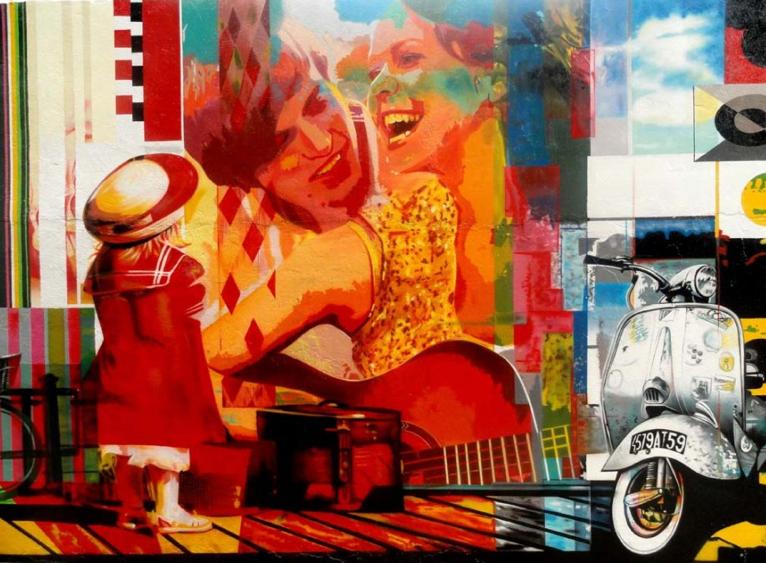 Eduardo Kobra painter - urban street art chicquero -  Mural Brazil 18