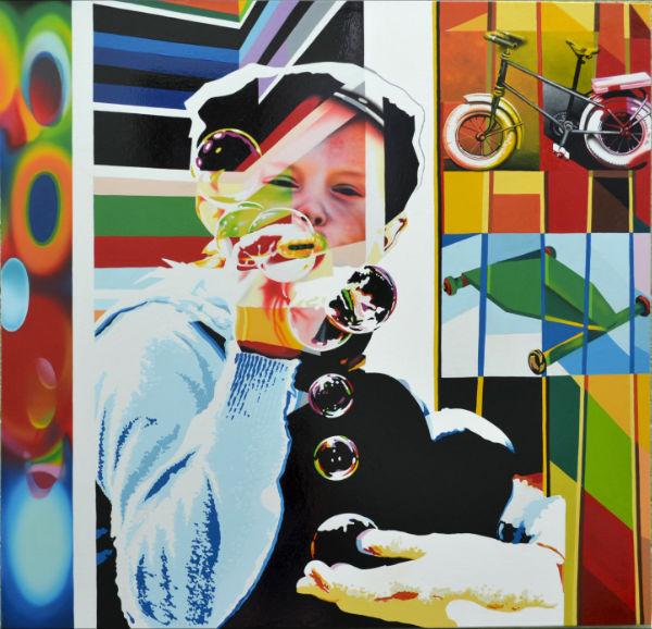 Eduardo Kobra painter - urban street art chicquero -  Mural Brazil 19