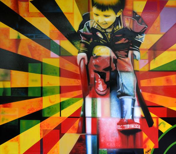 Eduardo Kobra painter - urban street art chicquero -  Mural Brazil 22