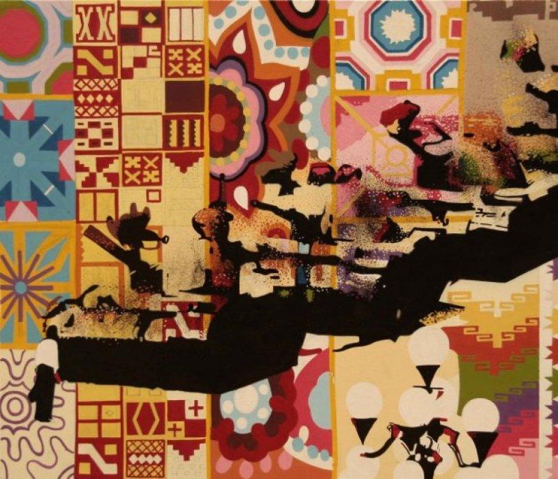 Eduardo Kobra painter - urban street art chicquero -  Mural Brazil 25