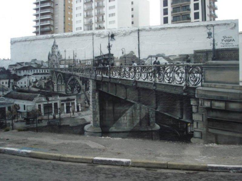 Eduardo Kobra painter - urban street art chicquero -  Mural Brazil 42
