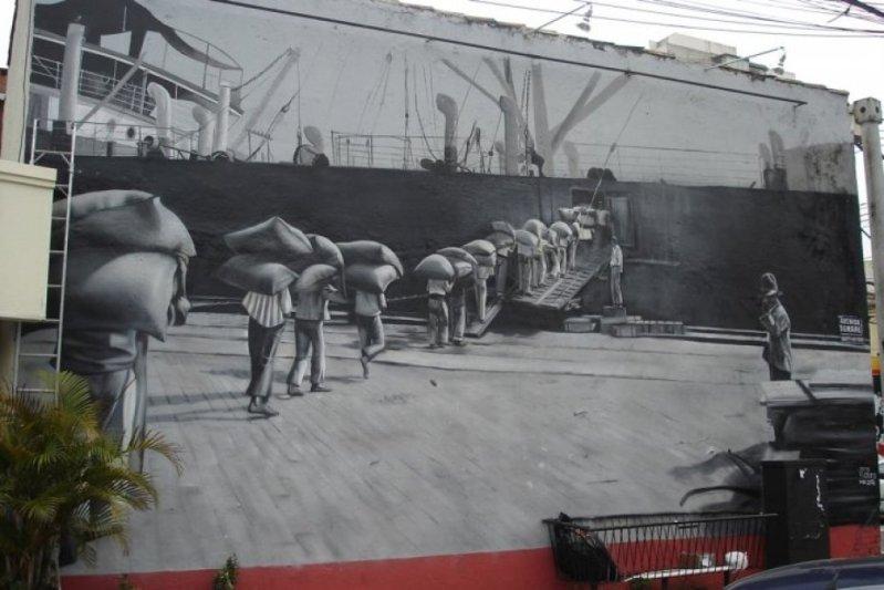 Eduardo Kobra painter - urban street art chicquero -  Mural Brazil 45
