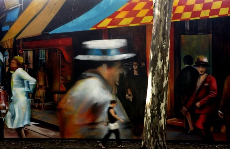 Eduardo Kobra painter - urban street art chicquero -  Mural Brazil 46