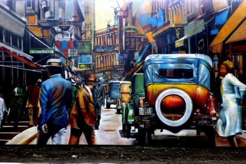 Eduardo Kobra painter - urban street art chicquero -  Mural Brazil 47