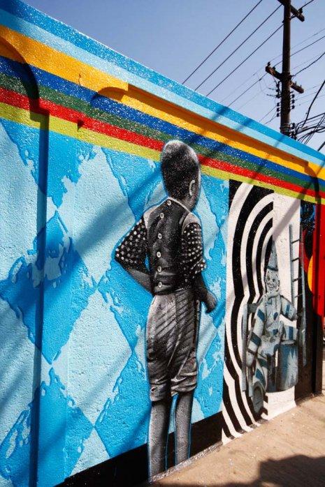 Eduardo Kobra painter - urban street art chicquero -  Mural vila_madalena_009_web
