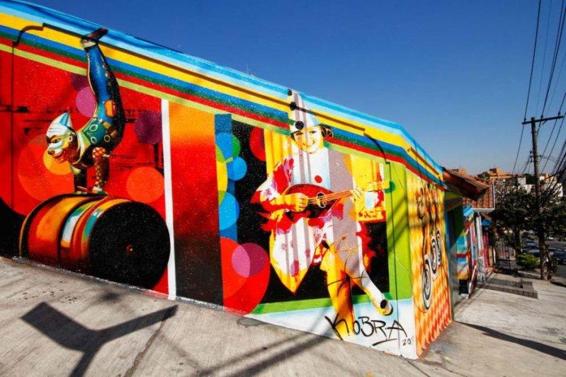 Eduardo Kobra painter - urban street art chicquero -  Mural vila_madalena_010_web