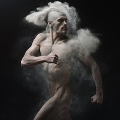 dust photography naked body art - chicquero - 9
